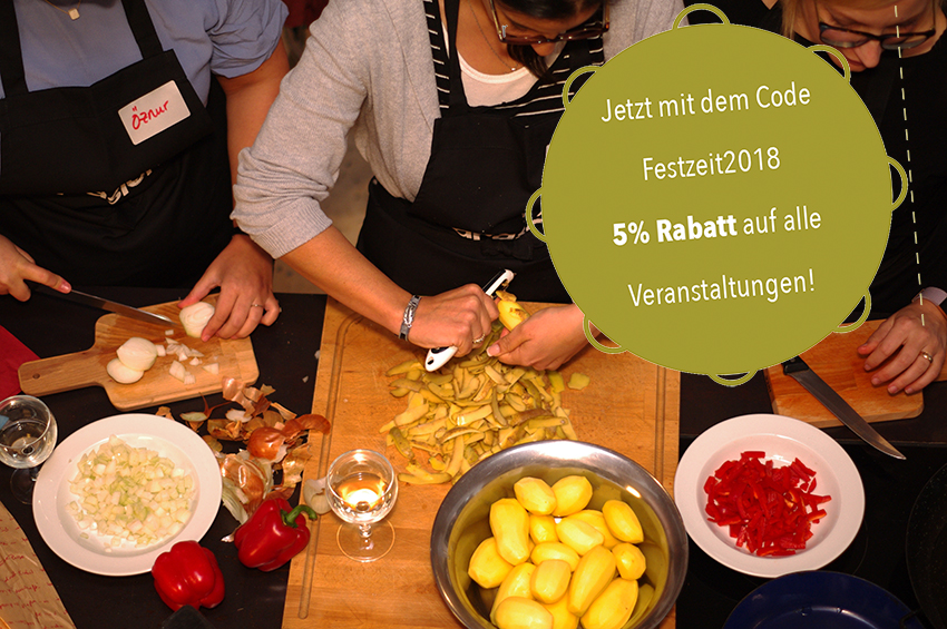 Der Tapasión-Kochkurs für Ihr Event