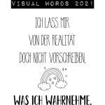 """3x 1 """"Visual Words 2021"""" zu gewinnen"""