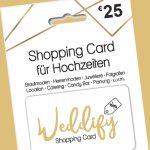 Mit Festzeit 5 Euro sparen auf die Shopping Card für Hochzeiten