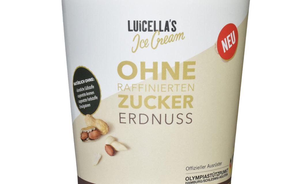 Neu und ohne Zucker: Luicella's Ice Cream Erdnuss & Vanille