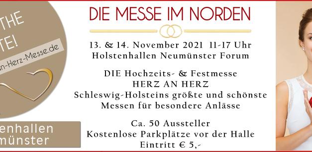 """Hochzeits- und Festmesse """"HERZ AN HERZ"""""""